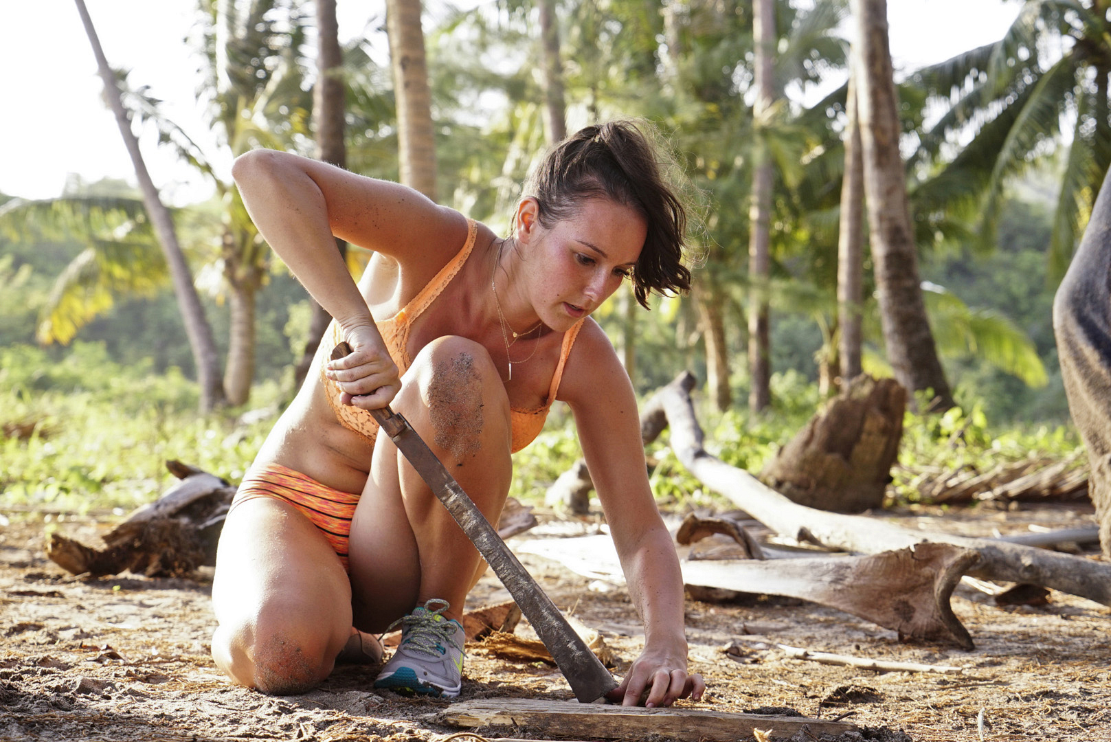 5. Did you practice any survival skills before actually going on Survivor?
