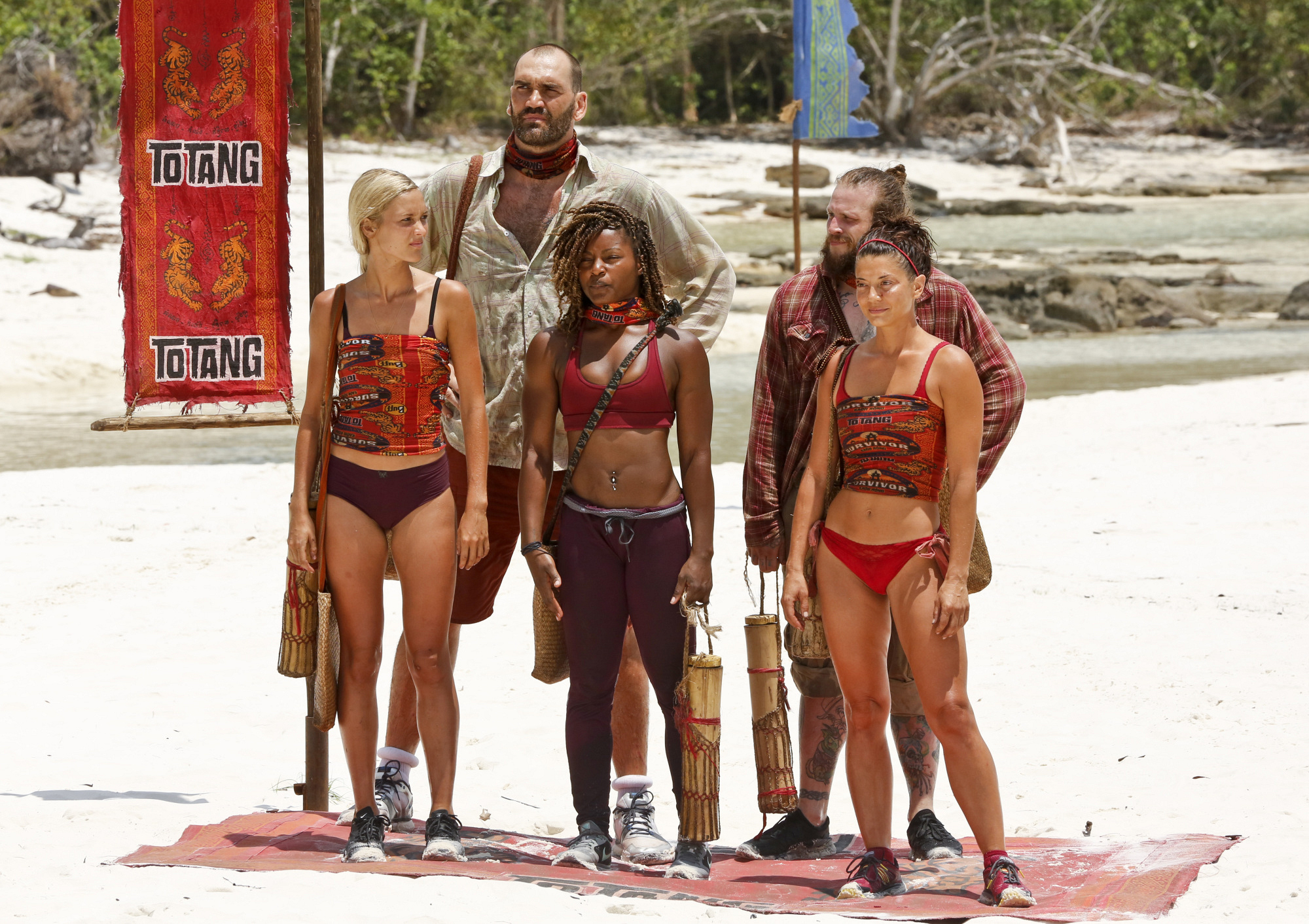 2. Do you feel like you self-sabotaged when you started over-sharing at Tribal Council?
