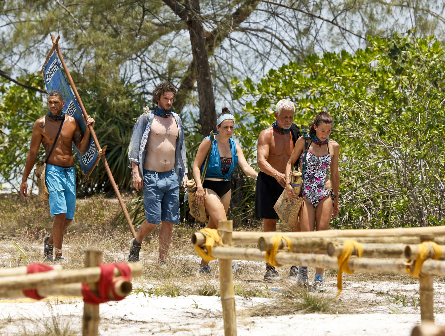 The most punishing season of Survivor takes its toll on the castaways.