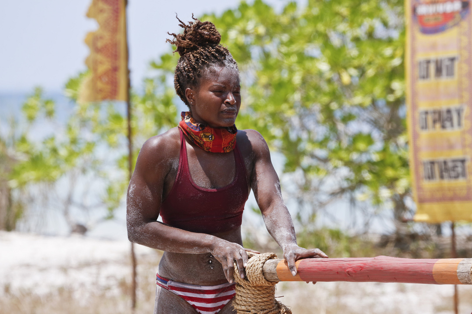 Cydney proves why she's a member of the Brawn Tribe.