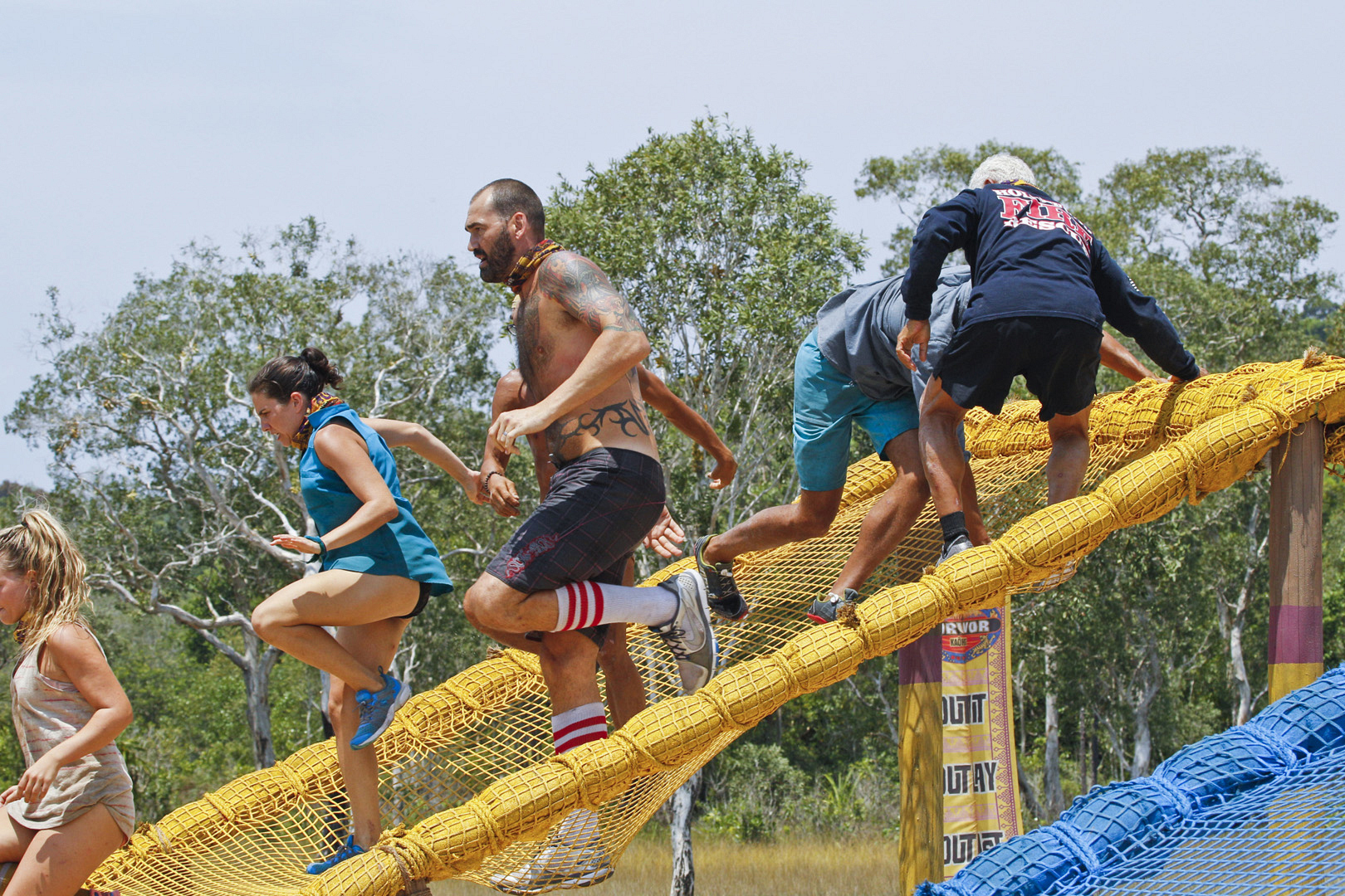 Competing for Immunity gets serious on Survivor.