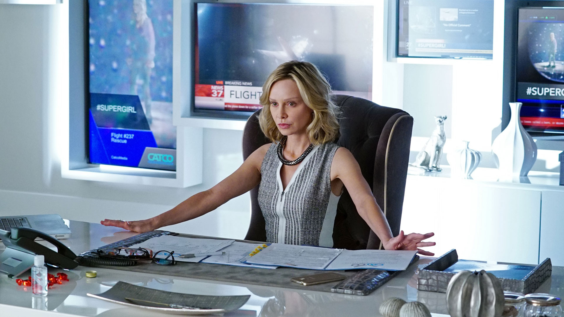 Cat Grant on Supergirl
