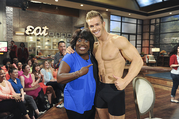 4. Sheryl Underwood is so excited she can't even handle it, and understandably so.