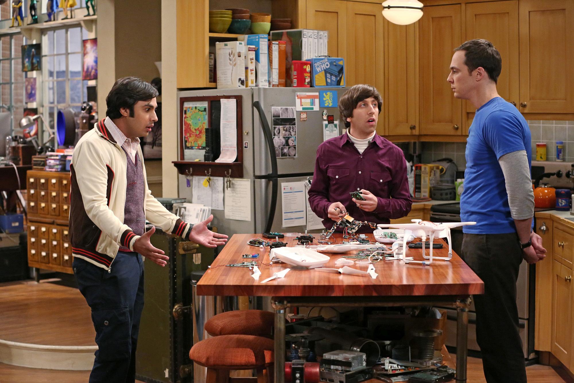 Raj's parents make the cut