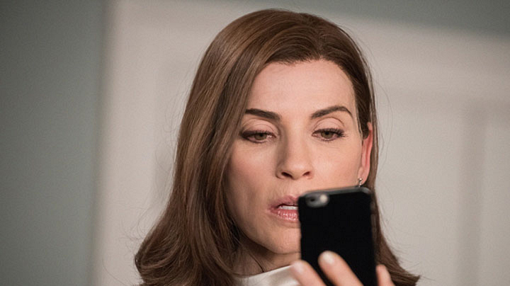 The Good Wife season finale airs May 10.