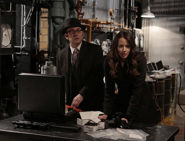 Person of Interest: Finch saves the machine, which has been located by the rival AI, Samaritan.