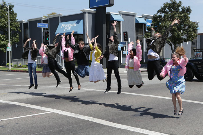 The big finale of Crosswalk The Musical's performance of Grease.