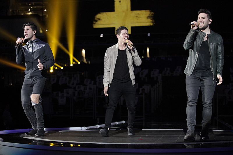 Dan + Shay and Nick Jonas