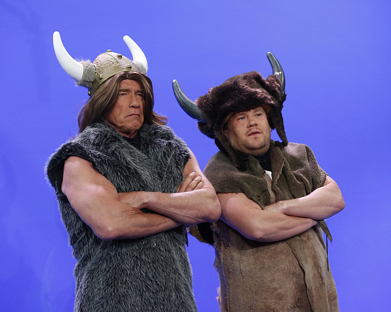 Conan the Barbarian now has a British sidekick.