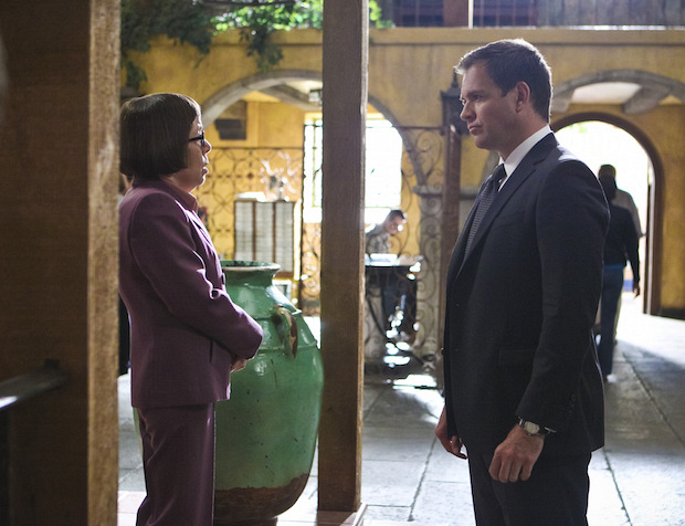 Hetty has some words for DiNozzo