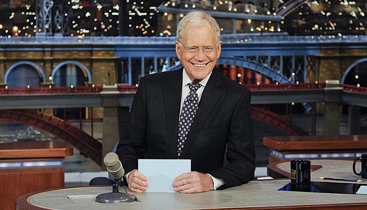 Late Show with David Letterman, nominated for Outstanding Variety Talk Series
