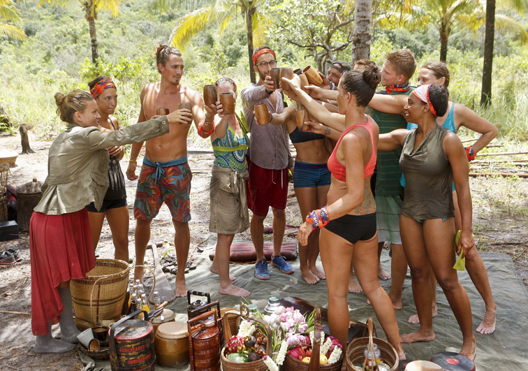 The castaways cheers to a Second Chance merge
