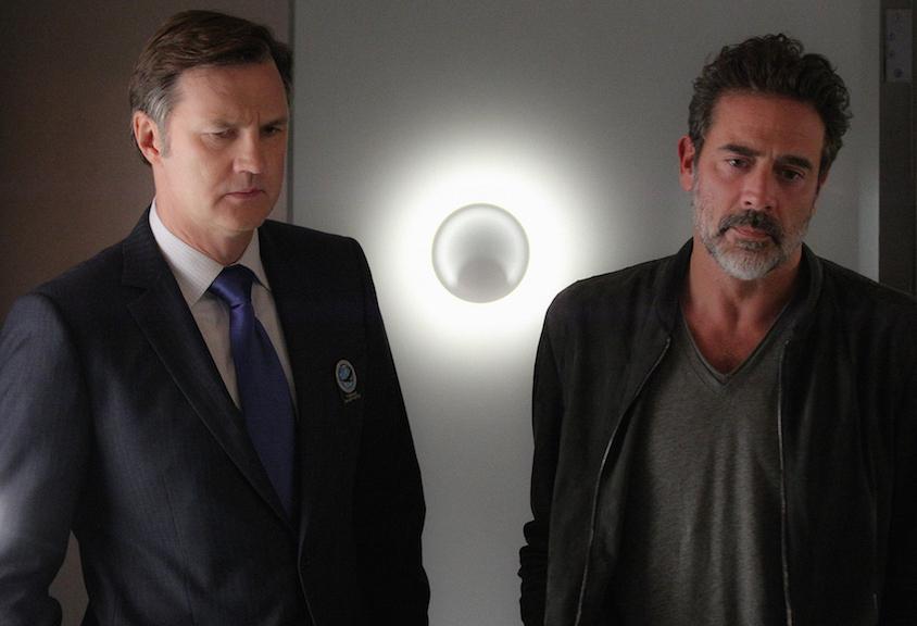 David Morrissey as Tobias Shepherd and Jeffrey Dean Morgan as JD Richter.