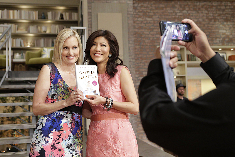 Ali Wentworth visited to talk about her new book
