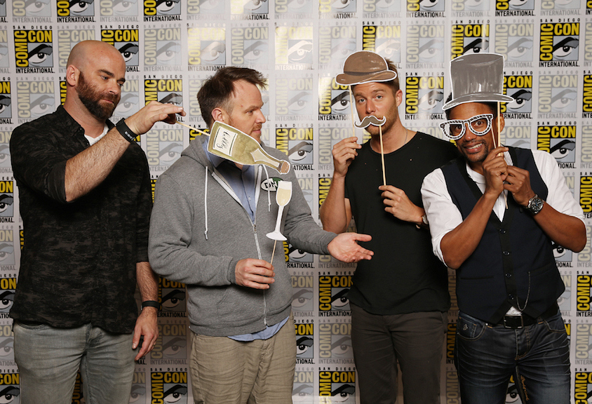 Executive Producer And Director Craig Sweeny, Director Marc Webb, And Actors Jake McDorman And Hill Harper