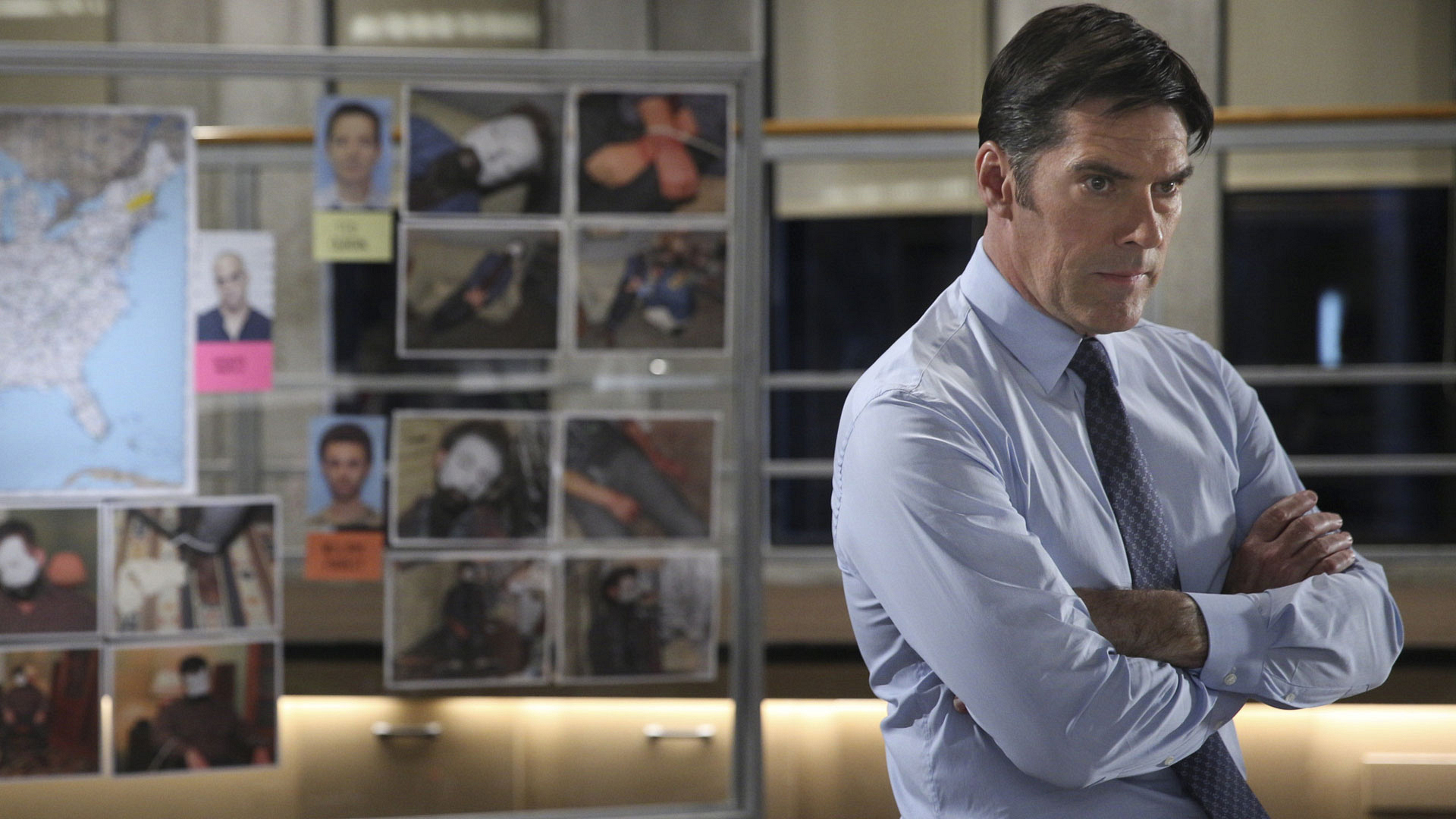 SSA Aaron Hotchner on Criminal Minds