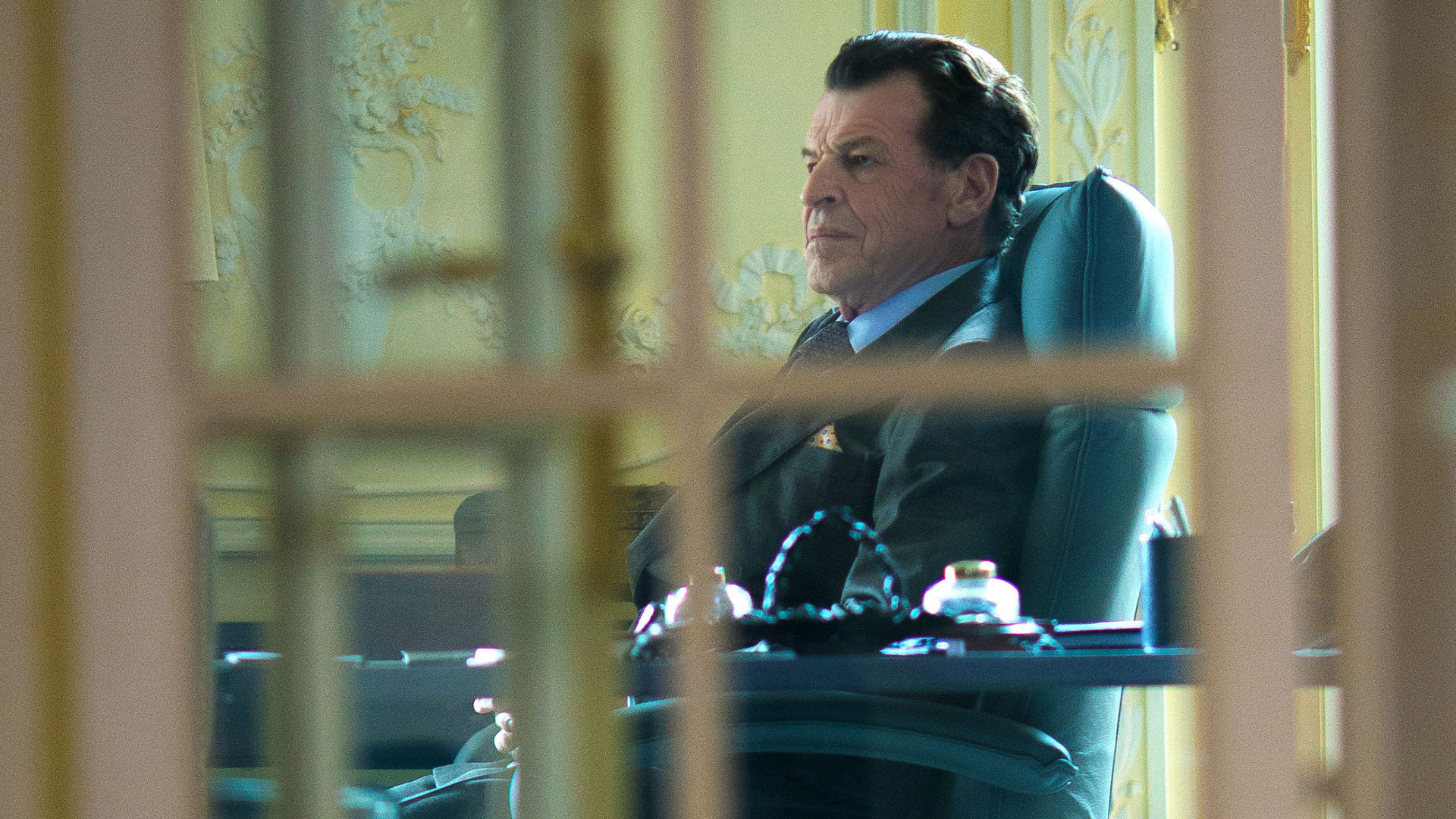 John Noble as Morland Holmes