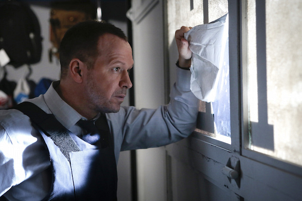 Donnie Wahlberg as Danny Reagan.