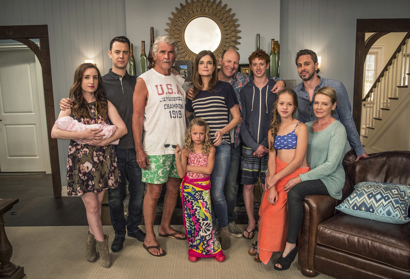 11. The Short Family From Life in Pieces
