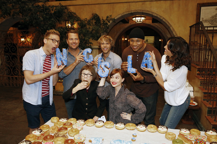Barrett Foa, Chris O'Donnell, Linda Hunt, Eric Christian Olsen, Renée Felice Smith, LL Cool J, Daniela Ruah