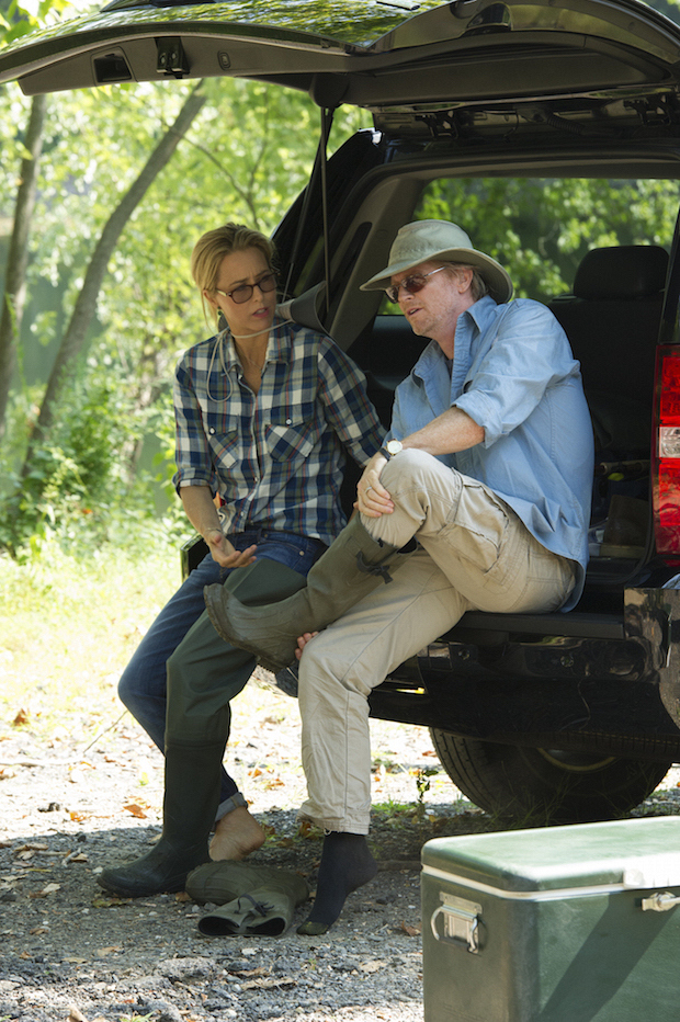 Téa Leoni as Elizabeth McCord and Eric Stoltz as Will Adams