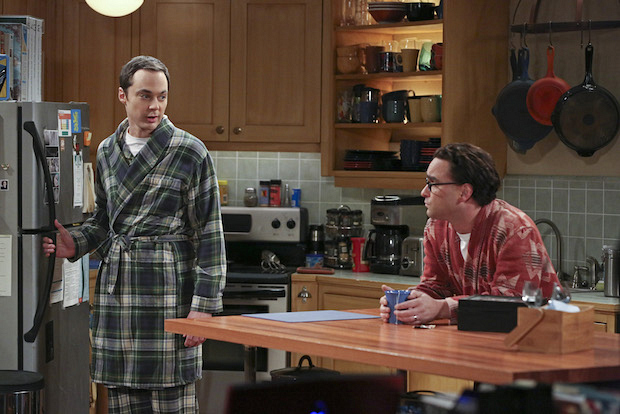Leonard opens up to Sheldon about his recent Vegas wedding
