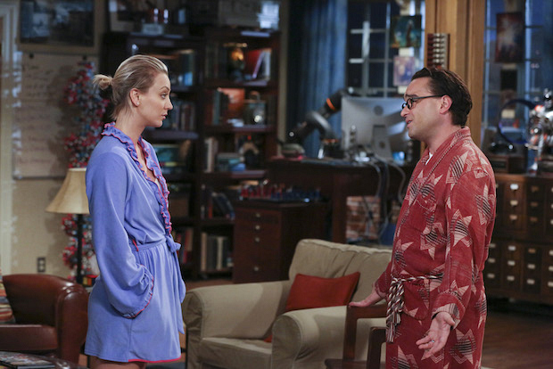 Penny and Leonard discuss their marriage