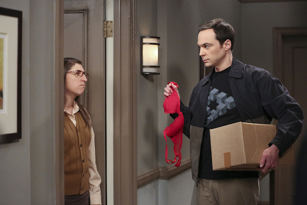 Sheldon confronts Amy again after their breakup