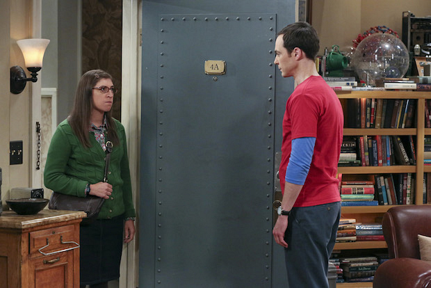 Amy struggles with her breakup from Sheldon