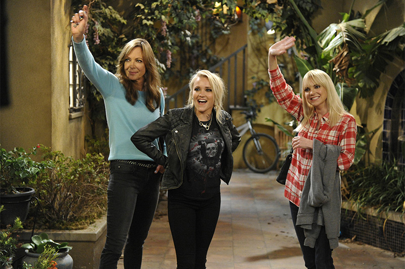 5. What was it like working with Allison Janney and Anna Faris?