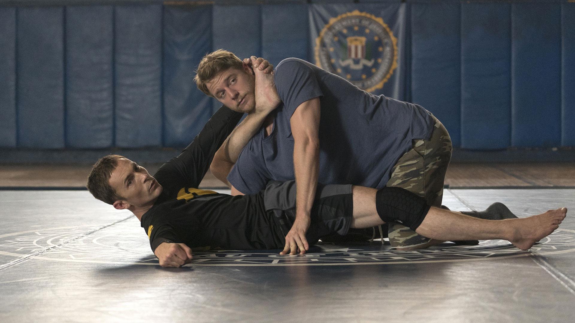 Desmond Harrington as Casey Rooks and Jake McDorman as Brian Finch