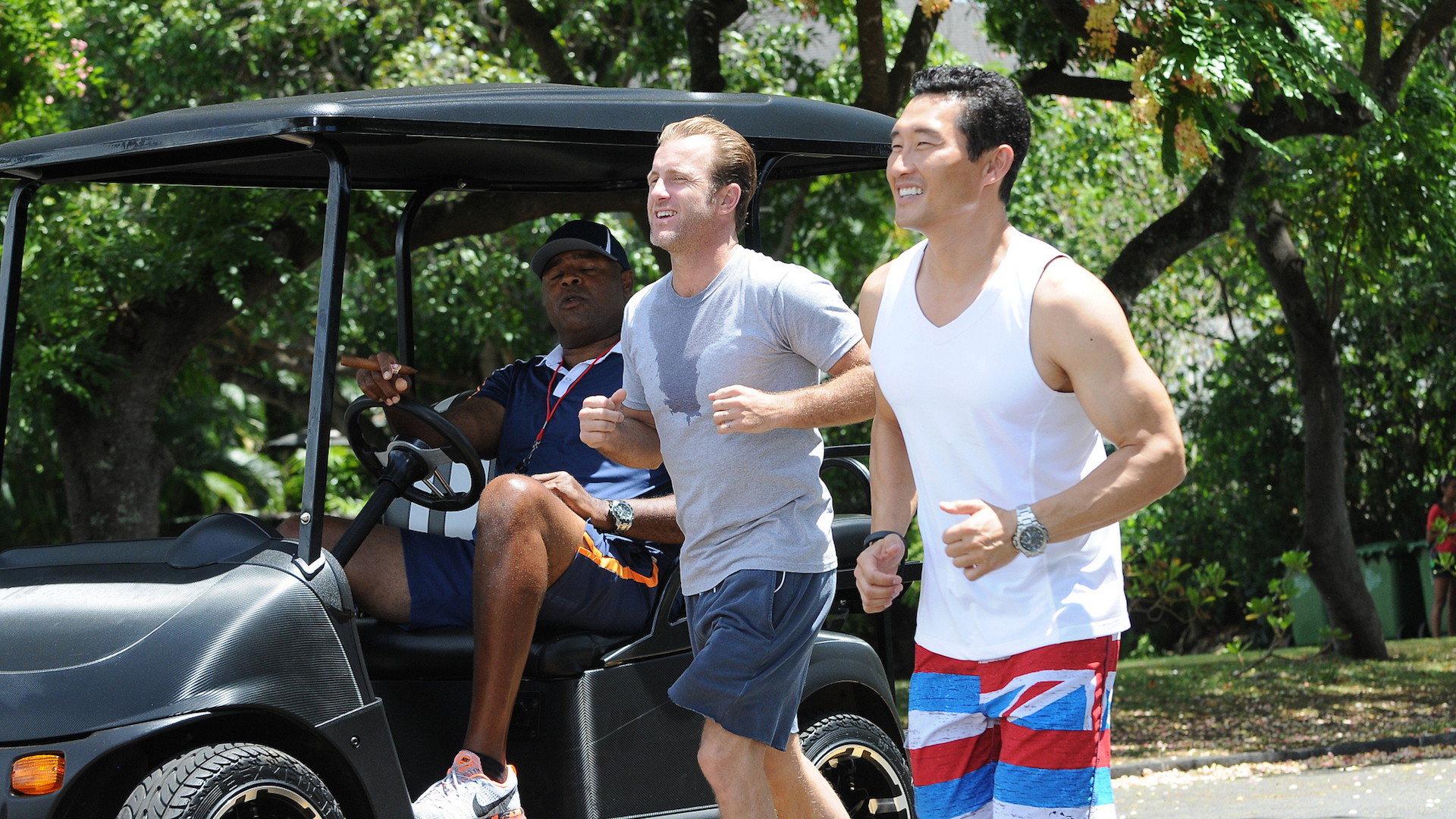 ​Would you ever consider doing a musical episode of Hawaii Five-0?