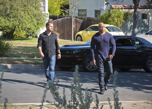 Chris O'Donnell as Agent G. Callen and LL COOL J as Special Agent Sam Hanna
