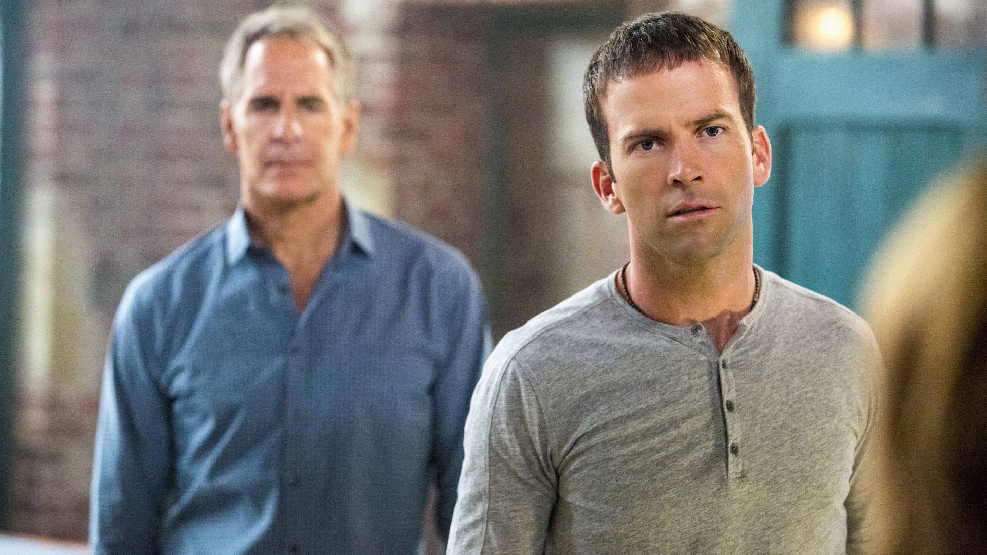 Scott Bakula as Dwayne Pride and Lucas Black as Christopher LaSalle