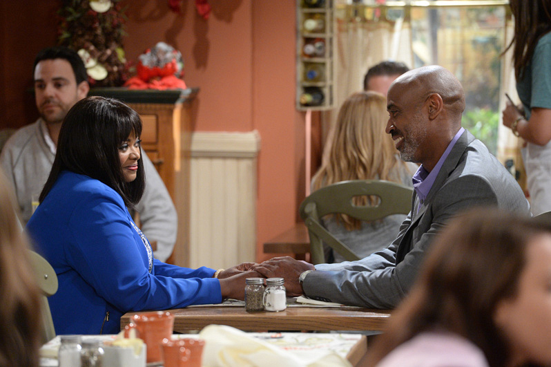 Regina enjoys her date with Marcus (Lamont Thompson).