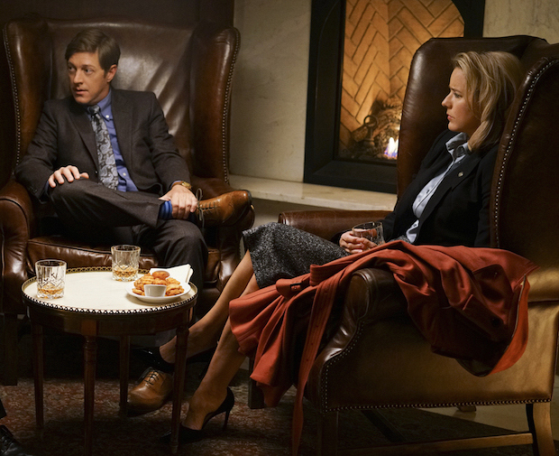 Kevin Rahm as Mike Barnow and Téa Leoni as Elizabeth McCord