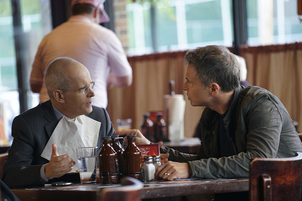 Zeljko Ivanek as Russell Jackson and Tim Daly as Henry McCord