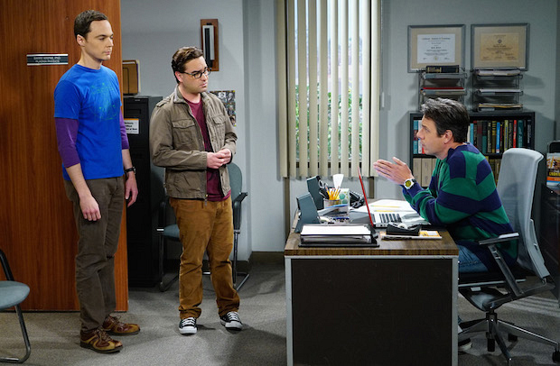 Sheldon and Leonard reluctantly turn to Barry Kripke for help