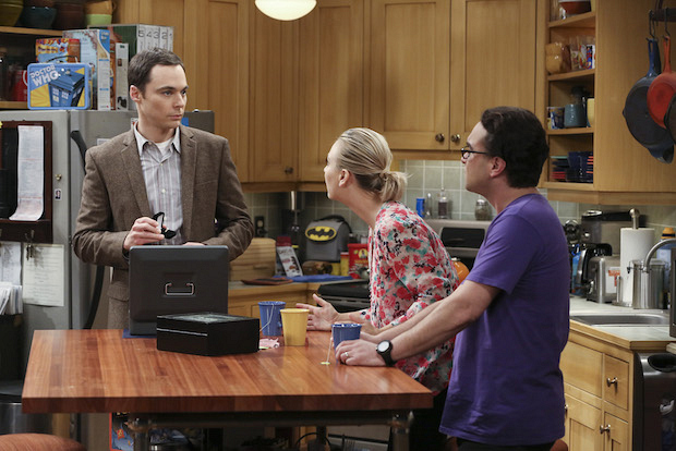 Penny and Leonard are shocked by Sheldon's previous proposal plans