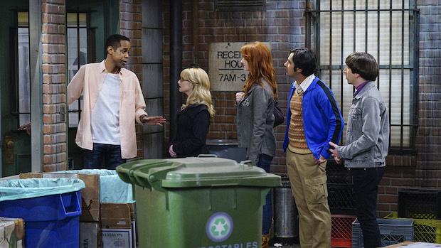Bernadette, Emily, Raj, and Howard try to volunteer
