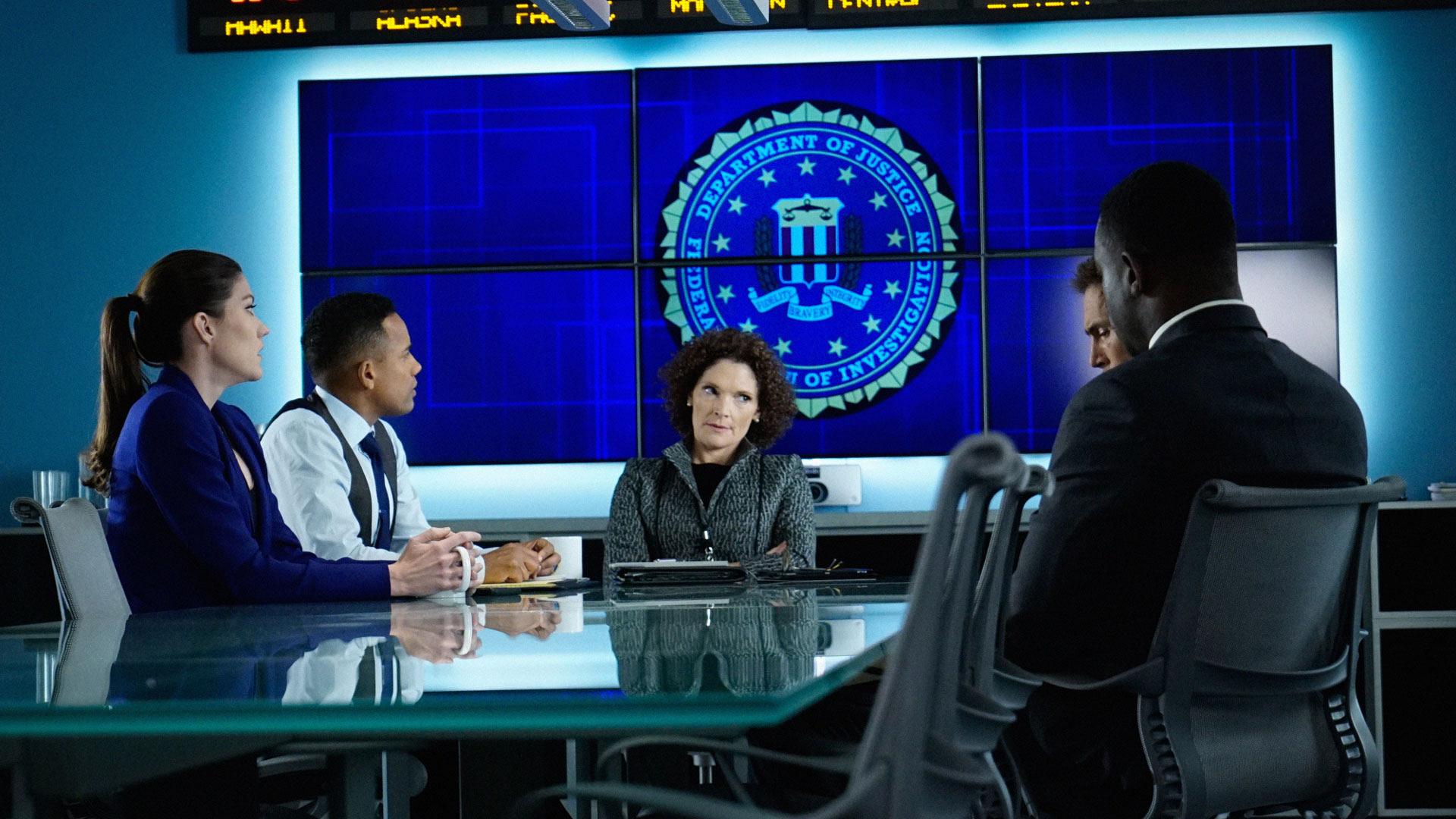 Jennifer Carpenter as Agent Rebecca Harris, Hill Harper as Agent Spelman Boyle,