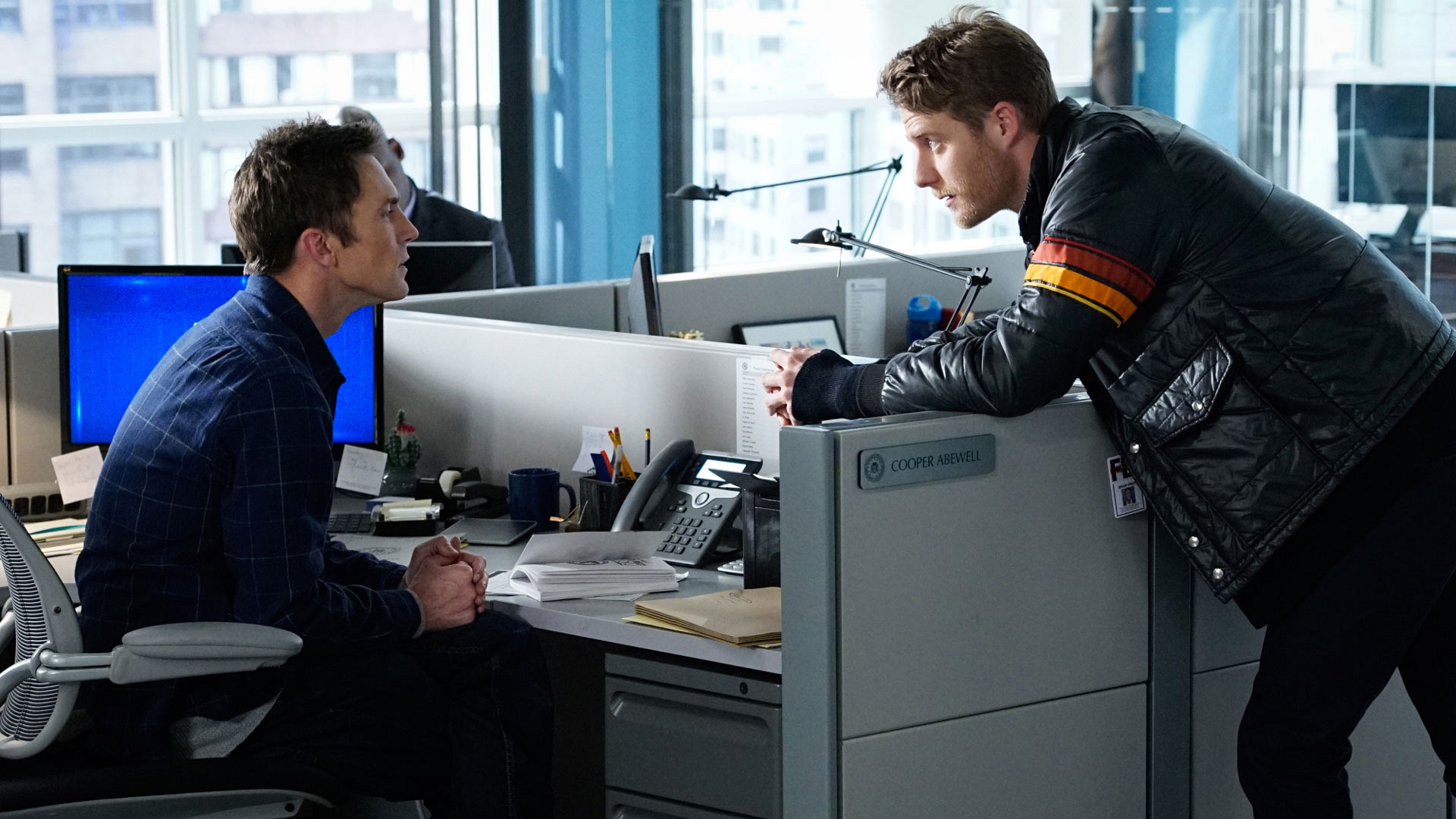 Desmond Harrington as Agent Casey Rooks and Jake McDorman as Brian Finch
