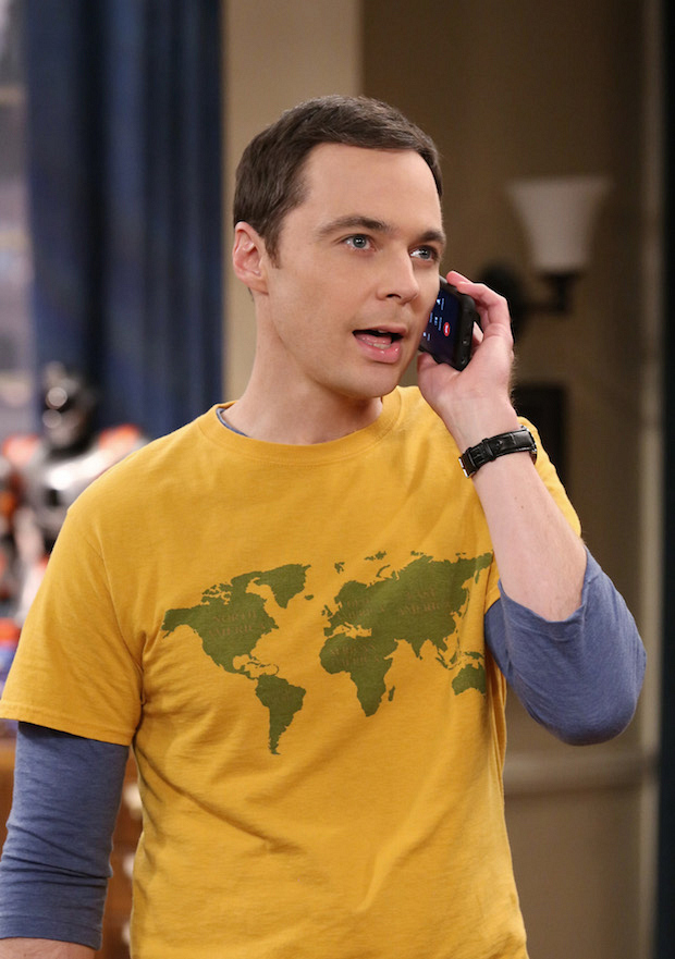 Sheldon makes an important call