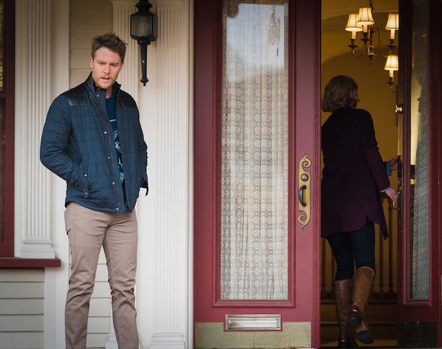 Georgina Haig as Piper and Jake McDorman as Brian Finch