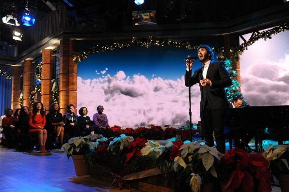 The Talk got a stellar performance in New York City.