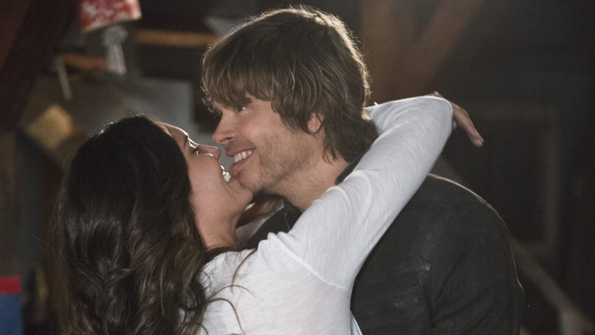 Kensi and Deeks moved in together on NCIS: Los Angeles.