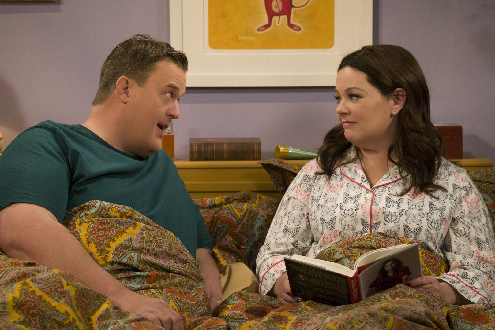 Mike and Molly talk through some recent issues before hitting the sack.