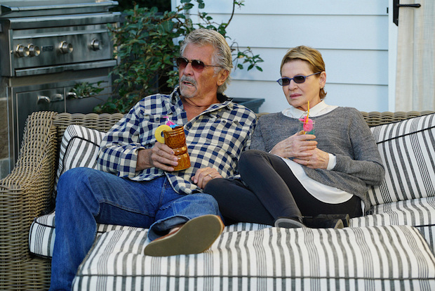 John and Joan try to enjoy a relaxing afternoon.
