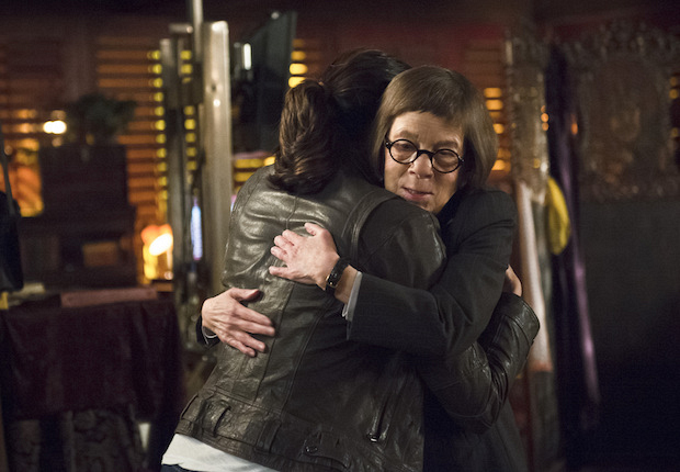 "Daniela Ruah as Kensi Blye and Linda Hunt as Henrietta ""Hetty"" Lange"