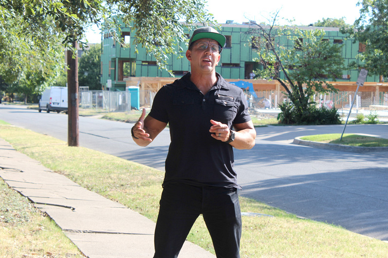 Rod Silva, founder of Muscle Maker Grill, plays a big part in Tim's undercover journey.